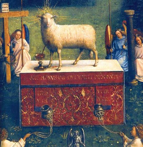 552px-Ghent_Altarpiece_D_-_Lamb B