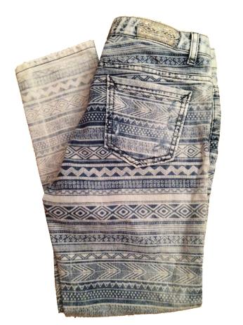 Zara Printed Jean