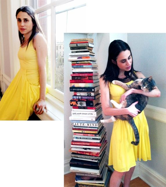 Yellow Fendi Dress copy