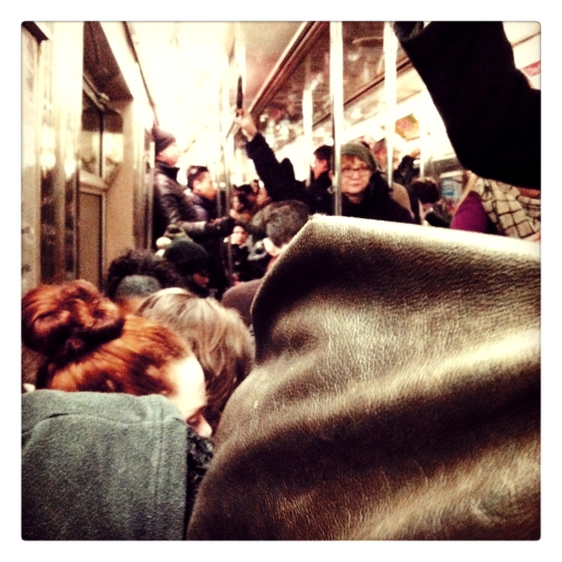 crowded subway 1