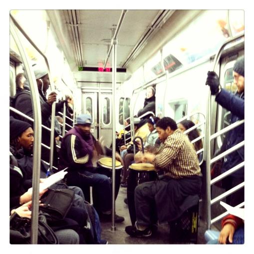 crowded subway 2