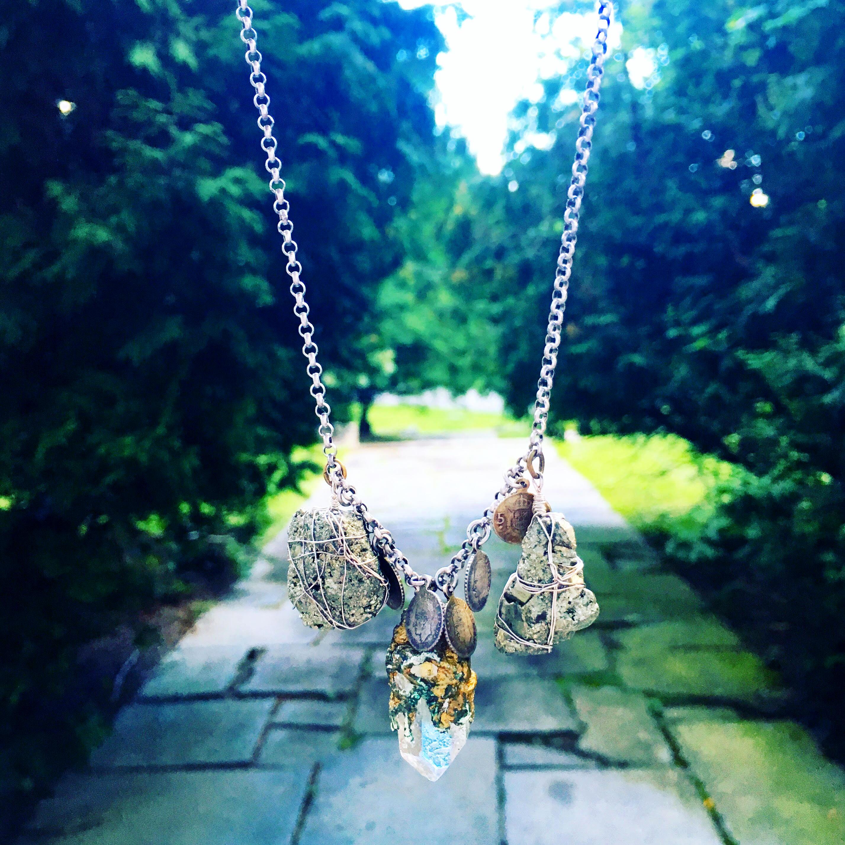 PB Wearable Art Necklace