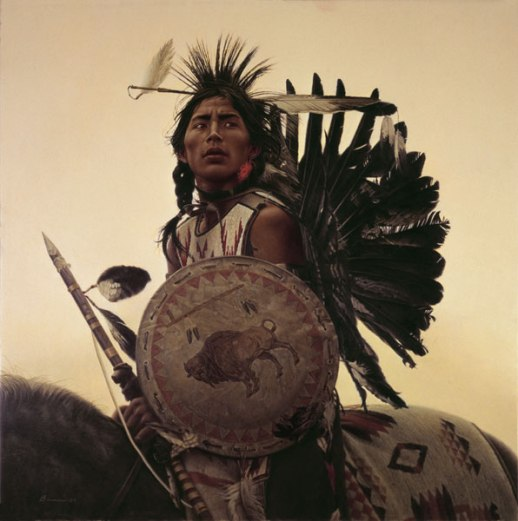 young-plains-indian-by-james-bama
