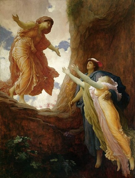 452px-Frederic_Leighton_-_The_Return_of_Persephone_(1891)